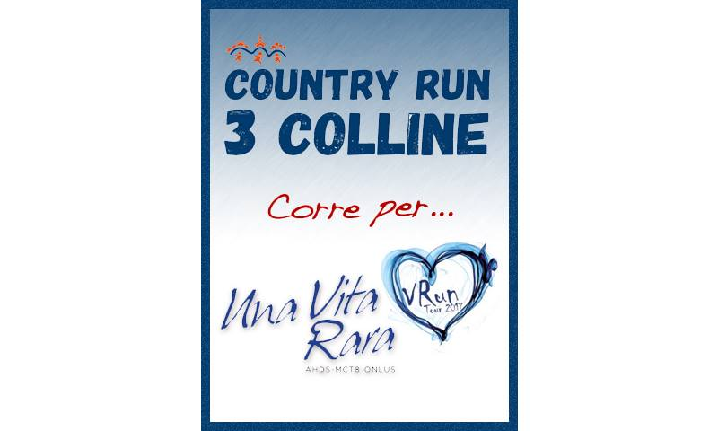 Country Run corre per Una Vita Rara